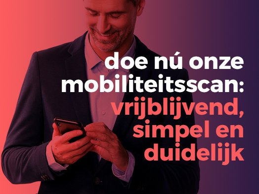 Driven Mobiliteitsscan