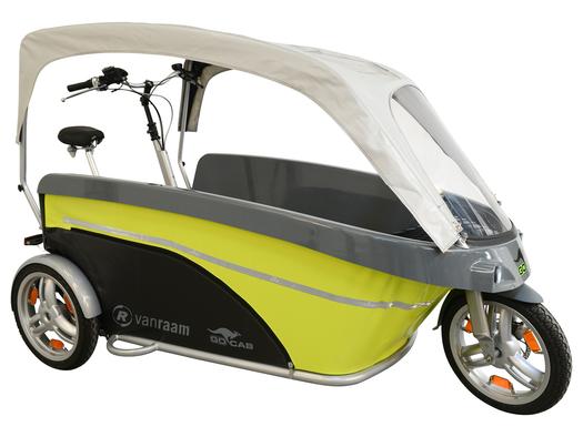 GoCab- fietstaxi voor kinderen Stint
