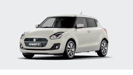 Suzuki Swift Select 1.2 CVT (Wit).JPG